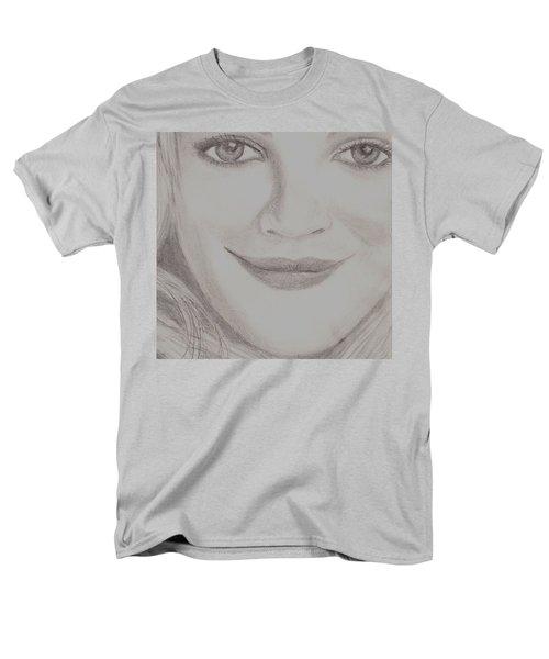 Drew Barrymore Men's T-Shirt  (Regular Fit) by Christy Saunders Church