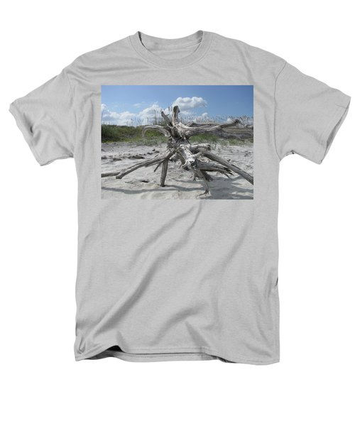 Driftwood Tree Men's T-Shirt  (Regular Fit) by Ellen Meakin