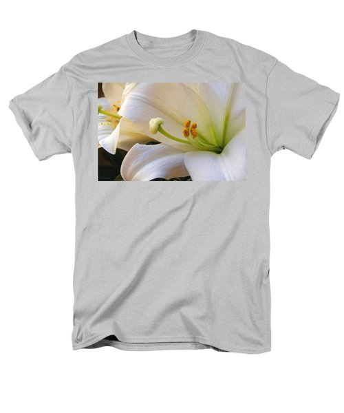 Men's T-Shirt  (Regular Fit) featuring the photograph Easter Lily by Bonnie Willis