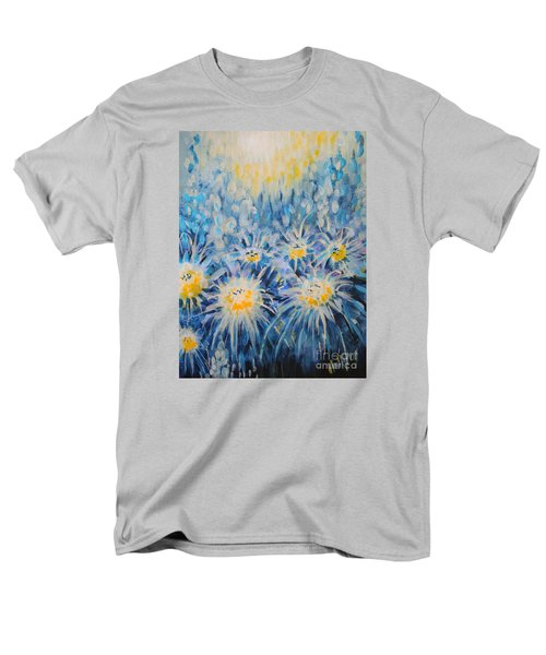 Men's T-Shirt  (Regular Fit) featuring the painting Edentian Garden by Holly Carmichael