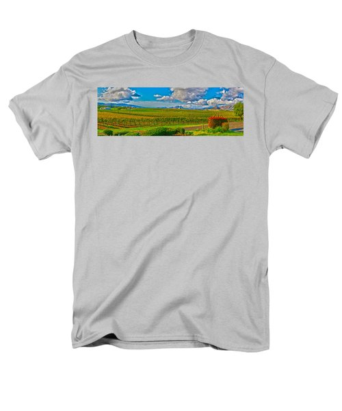 Edna Wineries Ca Men's T-Shirt  (Regular Fit) by Richard J Cassato