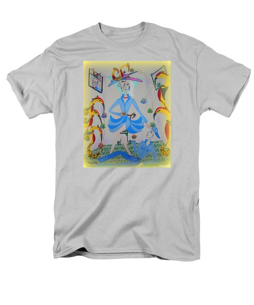 Eleonore Tea Party Men's T-Shirt  (Regular Fit) by Marie Schwarzer