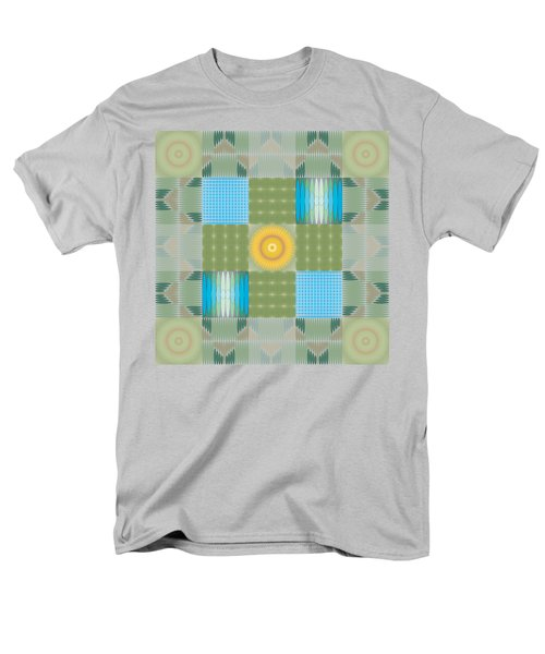 Ellipse Quilt 1 Men's T-Shirt  (Regular Fit) by Kevin McLaughlin