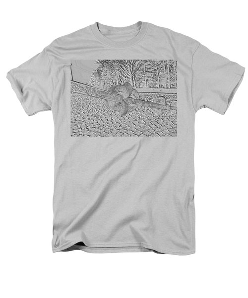 Embossed Chain Men's T-Shirt  (Regular Fit) by Michael Porchik