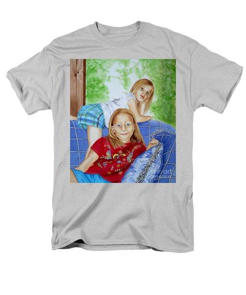 Emi And Mackenzie Men's T-Shirt  (Regular Fit) by Debbie Hart