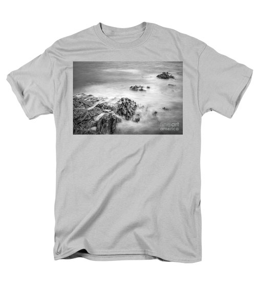 Men's T-Shirt  (Regular Fit) featuring the photograph Estacas Beach Galicia Spain by Pablo Avanzini
