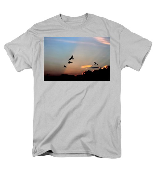 Evening Dance In The Sky Men's T-Shirt  (Regular Fit) by Bruce Patrick Smith
