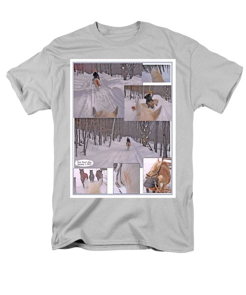 Every Day Is The First Day Of The Year To Me Men's T-Shirt  (Regular Fit) by Patricia Keller