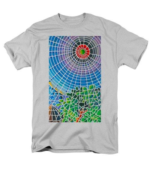 Men's T-Shirt  (Regular Fit) featuring the digital art Eye Of God by Anthony Mwangi