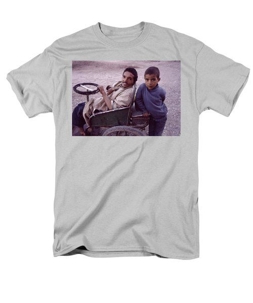 Father And Son Men's T-Shirt  (Regular Fit) by Shaun Higson