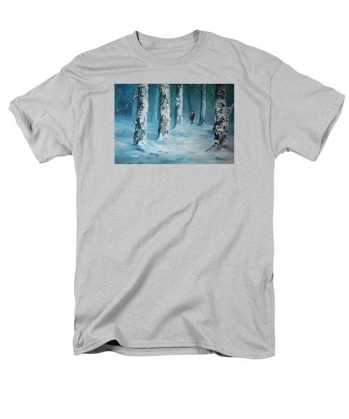 First Trodden Snows Men's T-Shirt  (Regular Fit) by Jean Walker