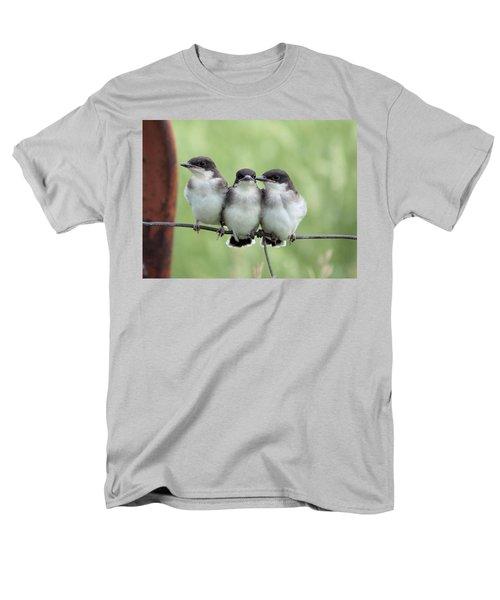 Fledged Siblings Men's T-Shirt  (Regular Fit) by Bonfire Photography