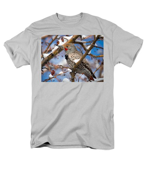 Flicker In Snow Men's T-Shirt  (Regular Fit) by Nadja Rider