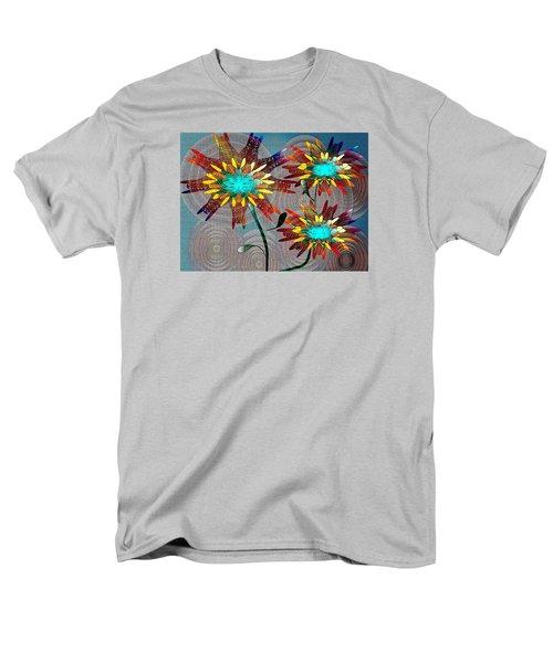 Flowering Blooms Men's T-Shirt  (Regular Fit) by Iris Gelbart
