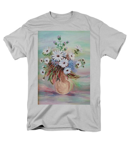 Flowers For Mom Men's T-Shirt  (Regular Fit) by Christy Saunders Church
