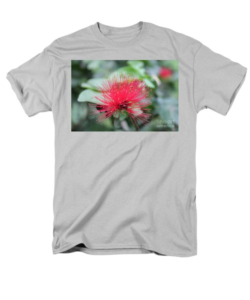 Fluffy Pink Flower Men's T-Shirt  (Regular Fit) by Sergey Lukashin
