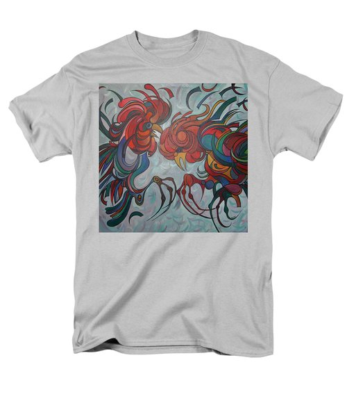 Flying Feathers Men's T-Shirt  (Regular Fit) by Tracey Harrington-Simpson