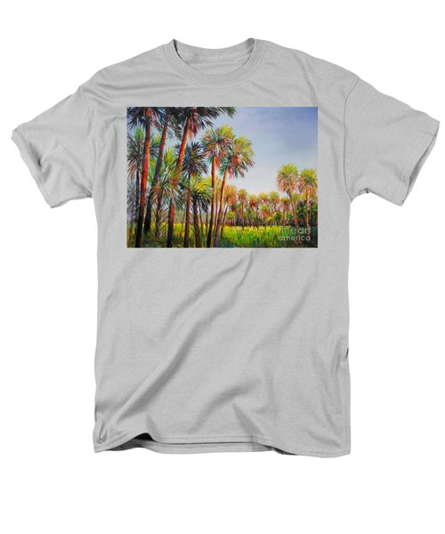 Forest Of Palms Men's T-Shirt  (Regular Fit) by Lou Ann Bagnall