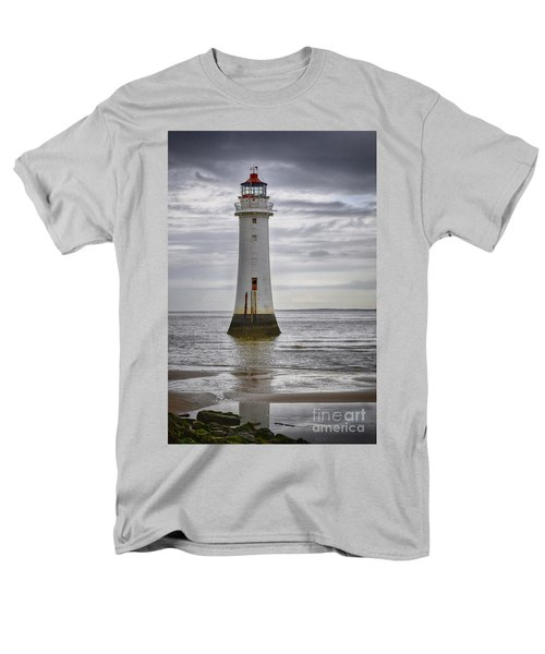 Fort Perch Lighthouse Men's T-Shirt  (Regular Fit) by Spikey Mouse Photography