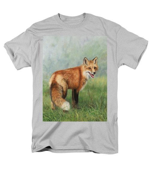 Fox  Men's T-Shirt  (Regular Fit) by David Stribbling