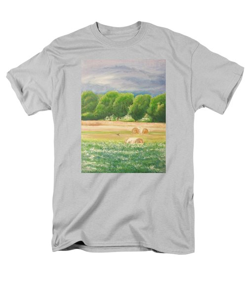 Men's T-Shirt  (Regular Fit) featuring the painting Freedom by Jane  See