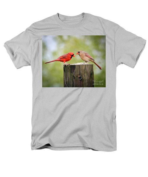 Men's T-Shirt  (Regular Fit) featuring the photograph Friends In The Rain  by Kerri Farley
