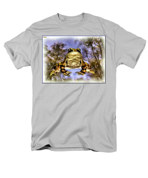 Men's T-Shirt  (Regular Fit) featuring the digital art Frog by Daniel Janda