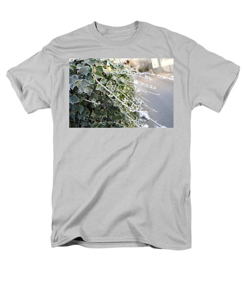 Men's T-Shirt  (Regular Fit) featuring the painting Frozen Hedera Helix by Felicia Tica