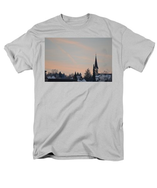 Men's T-Shirt  (Regular Fit) featuring the photograph Frozen Sky 2 by Felicia Tica