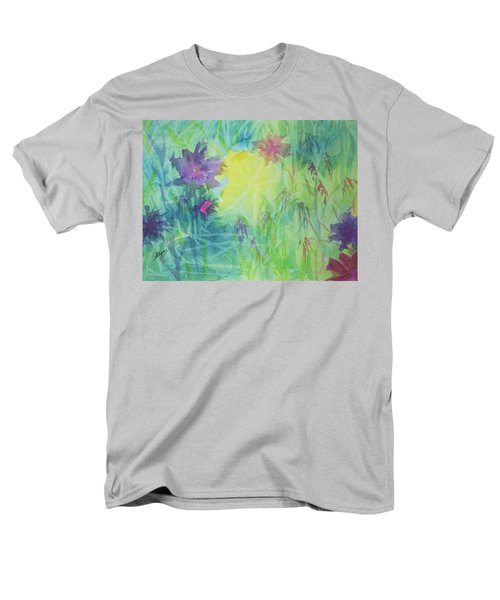 Garden Vortex Men's T-Shirt  (Regular Fit) by Ellen Levinson