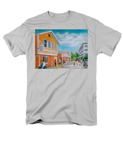 Georgetown Grand Cayman Men's T-Shirt  (Regular Fit) by Frank Hunter