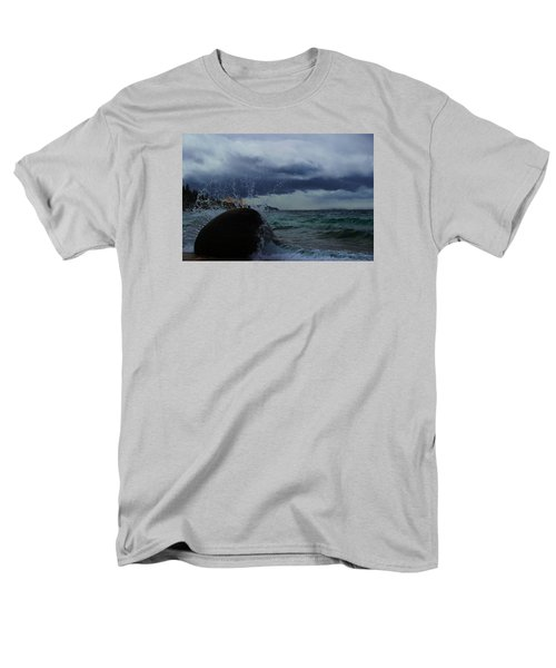 Men's T-Shirt  (Regular Fit) featuring the photograph Get Splashed by Sean Sarsfield