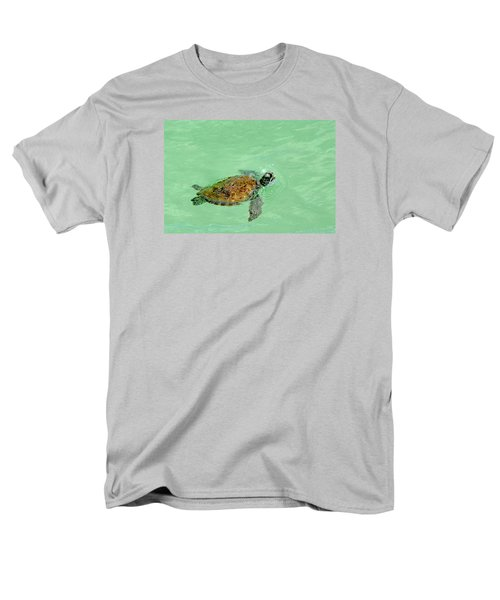 Men's T-Shirt  (Regular Fit) featuring the photograph Good Day For A Swim  by Susan  McMenamin