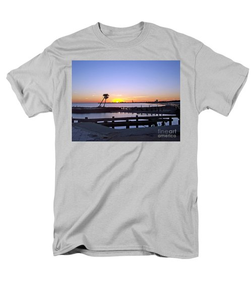 Men's T-Shirt  (Regular Fit) featuring the photograph Goodbye Sun by Roberta Byram