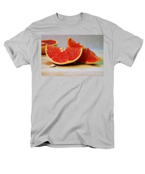 Grapefruit Slices Men's T-Shirt  (Regular Fit) by Joseph Skompski