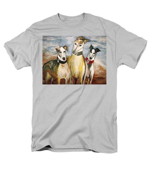 Greyhounds Men's T-Shirt  (Regular Fit) by Leslie Manley