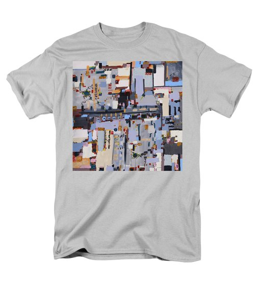 Gridlock Men's T-Shirt  (Regular Fit) by Regina Valluzzi