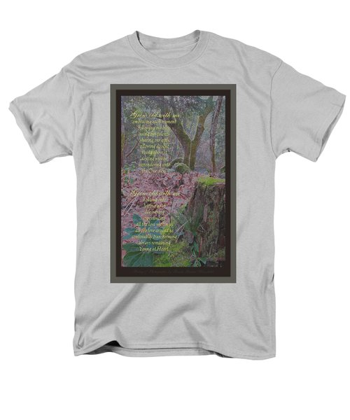 Men's T-Shirt  (Regular Fit) featuring the photograph Grow Old With Me by Brooks Garten Hauschild