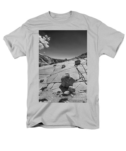 Half Dome From Olmsted Point Men's T-Shirt  (Regular Fit) by Terry Garvin