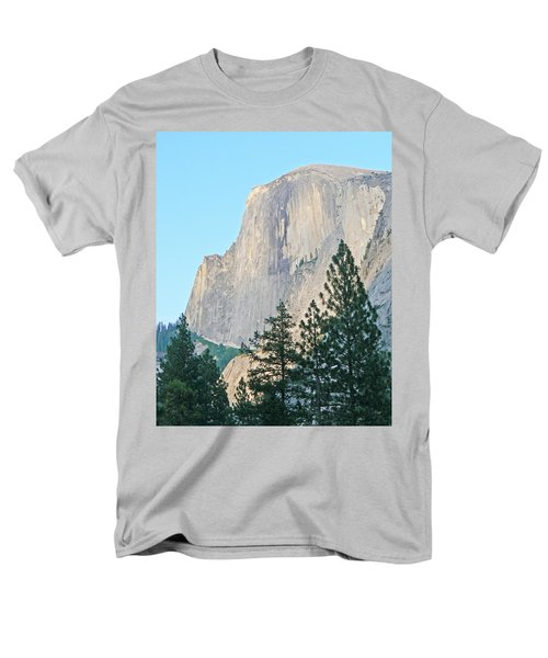 Half Dome Yosemite Men's T-Shirt  (Regular Fit) by Laurel Powell