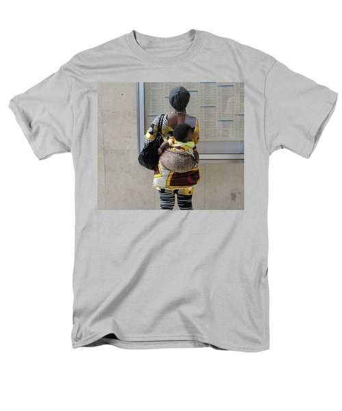 Men's T-Shirt  (Regular Fit) featuring the photograph Have Baby Will Travel by Natalie Ortiz