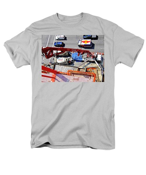 Heavy Lifting Pumper Men's T-Shirt  (Regular Fit) by Steve Sahm