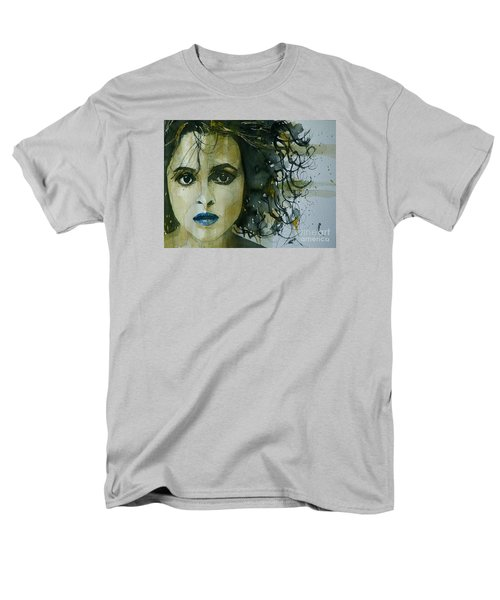 Helena Bonham Carter Men's T-Shirt  (Regular Fit) by Paul Lovering