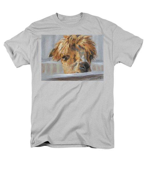 Men's T-Shirt  (Regular Fit) featuring the drawing Hello by Lori Brackett