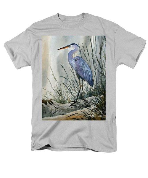 Herons Sheltered Retreat Men's T-Shirt  (Regular Fit) by James Williamson