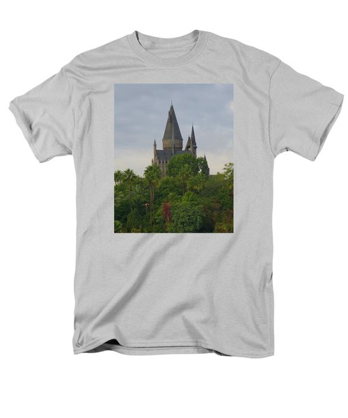 Hogwarts Castle 1 Men's T-Shirt  (Regular Fit) by Kathy Long