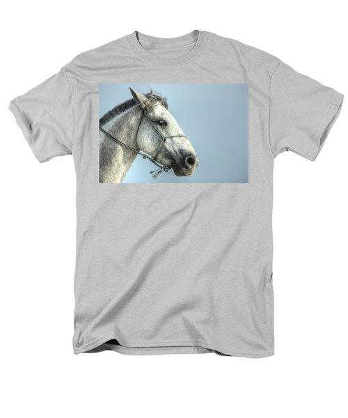 Men's T-Shirt  (Regular Fit) featuring the photograph Horse Head-shot by Eti Reid