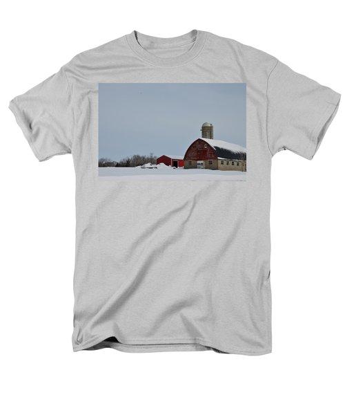 Men's T-Shirt  (Regular Fit) featuring the photograph Hunterdon County Landscape by Steven Richman