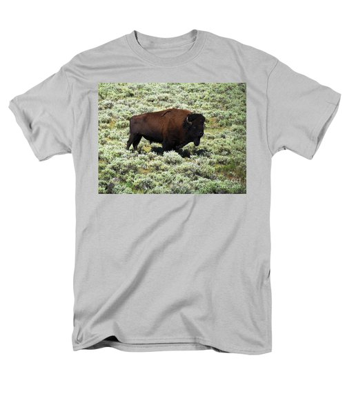 I Am The King Of This Meadow Men's T-Shirt  (Regular Fit) by Ausra Huntington nee Paulauskaite