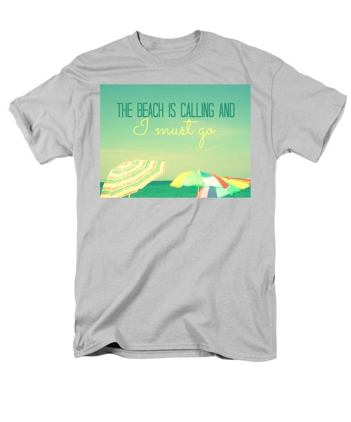 Men's T-Shirt  (Regular Fit) featuring the digital art I Must Go by Valerie Reeves